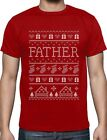 Funny Gift for Father Ugly Christmas Sweater T-Shirt Gift
