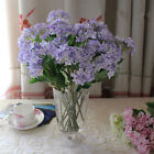 Wedding Bridal Party Home Decor Artificial Hydrangea Bouquet Silk Flowers 1PC