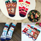 Women Men Cotton Ankle Socks Sports Casual Xmas Cartoon Hosiery Gift
