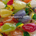 Tilleys Jargonelle Pears Big Assorted Fruit Pear Drops Tilley's Wrapped Sweets