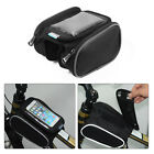 Roswheel Bicycle Bike Front Top Tube Frame Pannier Double Bag Phone Touch M/L
