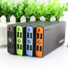 50000mAh Portable 4USB Power Bank External Backup LED Battery Pack Charger Phone