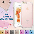 Shockproof Transparent Crystal Clear Soft TPU Case Back Cover for iPhone7/7 Plus