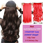 100% natural hairpiece Clip in Hair Extensions One Piece real as remy hair su28
