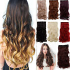 "Внешний вид - 120-200g 17-30"" Long Clip in Full Head hair Extensions as remy human hair hn76"
