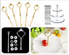 Hot! 2/3 Tier Plate Cup Cake Stand Centre Hardware Handle Rod Fitting Set Metal