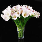 6-20pcs Bouquet Touch Latex Calla Lily Flower Wedding Home Decor Wholesale Sold