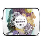 Zipper Sleeve Bag Cover - Radiate - Fits Most Laptops + MacBooks
