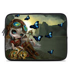 Zipper Sleeve Bag Cover - Clockwork Dragonling - Fits Most Laptops + MacBooks