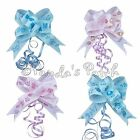 Grosgrain Ribbon Pull Bows Baby Girl/Boy Pink or Blue