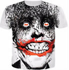 New Fashion Womens/Mens Personalized Spider- Joker Funny 3D Print T-Shirt US11