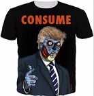 New Fashion Womens/Mens DONALD DRUMPH Funny 3D Print T-Shirt US24