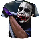 New Womens/Mens Batman The Joker DC Comics Superhero 3D Print T-Shirt US233