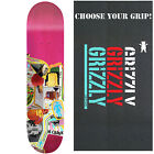 GIRL Skateboard Deck MCCRANK MISH MOSH 8.375 with GRIZZLY GRIPTAPE