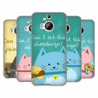 HEAD CASE DESIGNS CURIOUS CATS SOFT GEL CASE FOR HTC PHONES 2