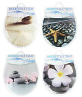 Soft Padded Adult Toilet Seat Bathroom PVC Wipe Clean Sponge 4 Designs