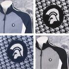 Trojan Records Limited Edition Retro Houndstooth Check Track Top