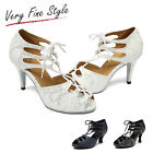Women's Salsa Ballroom Tango Dance Shoes Style L221