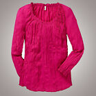 luftige BASIC TUNIKA Shirt  PINK Gr.46 XXL CRASH 100%Baumwolle
