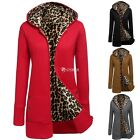 Outwear Overcoat Womens Long Jacket Winter Coat Hood Parka Front Zipper DZ88