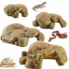Exo Terra Reptile Hide Cave Natural Pebble Look Snake Gecko Lizard Basking Spot