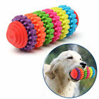 Colorful Rubber Pet Dog Puppy Dental Teething Healthy Teeth Gums Chew Toy Best