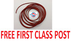 NEW SILICONE 60 O-RING CORD 6.5MM DIAMETER - ANY LENGTH FROM 1 METRE