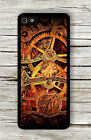 GEARS CLOCK STEAMPUNK FASHION STYLE CASE FOR iPHONE 4 , 5 , 5c , 6 -lij8X