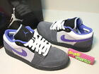 Nike Air Jordan 1 Phat Low Purple Grey White Basketball 338145-004
