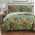 Luxury Bonnie Printed Oversize Quilt Reversible Bedspread Lightweight Coverlet image