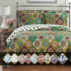 Luxury Bedding 2-3 Piece Oversized Quilted Bedspread Coverlet Set  image