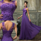 PLUS SIZE Formal Evening Party Ball Gown Dress Wedding Bridesmaid Long Dresses 8