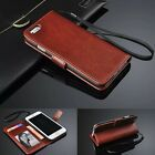 Magnetic Flip Leather Wallet Case Photo Card Stand Cover For iPhone 6 6S Plus