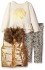 Juicy Couture Infant Girls Gold Vest 3pc Legging Set Size 12M 18M 24M $79.50