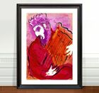 Marc Chagall David and harp ~ FINE ART CANVAS PRINT 36x24""