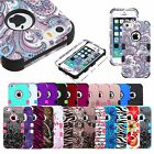 iPhone XS Max Case XR 8 Plus X 7 6S SE 5S Hard Tuff Shockproof Protective Cover