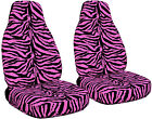 2000-2016 Ford Focus Zebra Velvet Seat Covers Side Airbag Option 9 Color Options