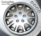 "Rims Cover Wheel Skin Covers 15"" Inches ABS Plastic Hubcap 4pcs Style #B028A"
