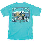 Fripp & Folly Saltwater Reels Comfort Colors Pocket T-shirt
