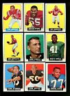 1964 TOPPS FOOTBALL PARTIAL SET 141/176 NM *50645