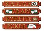 Casino Party Decoration Assorted for Birthday Accessories