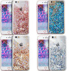 Bling Glitter Dynamic Liquid Paillette Quicksand Clear Case Cover For iPhone 6 7