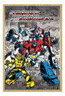 Framed Transformers G1 Retro Comic Poster New - Time Remaining: 16 days 9 hours 22 minutes 1 second