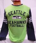 SEATTLE SEAHAWKS MENS  LONG SLEEVE TEAM NFL SHIRT NEW PICK SIZE