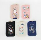 With Alice Corner Card Case Zipper Pocket Money Coin Wallet Illust Purse Holder