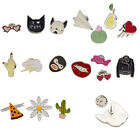 1 Set Brooches Pins Sexy Lip Heart Dog Women Accessories Jewelry Party Cute Gift