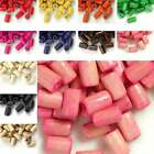 30g 450pcs Approx Wooden Wood Beads Spacer Tube Beads 8x5mm Jewelry Findings Bm