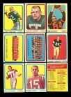 1963 TOPPS CFL PARTIAL SET 38/88 NM *51369