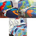 nEw DINOSAUR TODDLER BEDDING SET - Prehistoric Dino Nursery Comforter Sheets