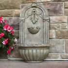 """27.2"""" Florence Outdoor Wall Water Fountain"""